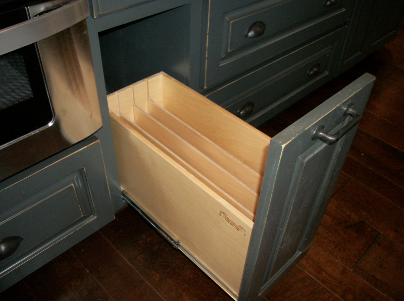 Cookie Sheet Pullout Eagle Cabinets